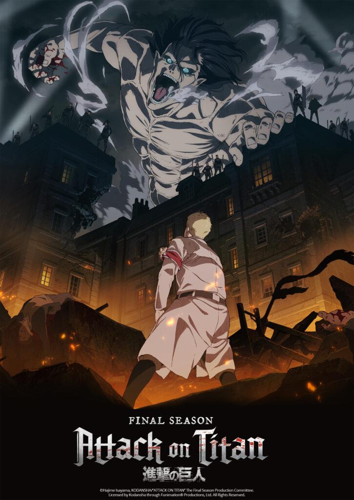 Attack on Titan The Final anime får premiere i starten af december