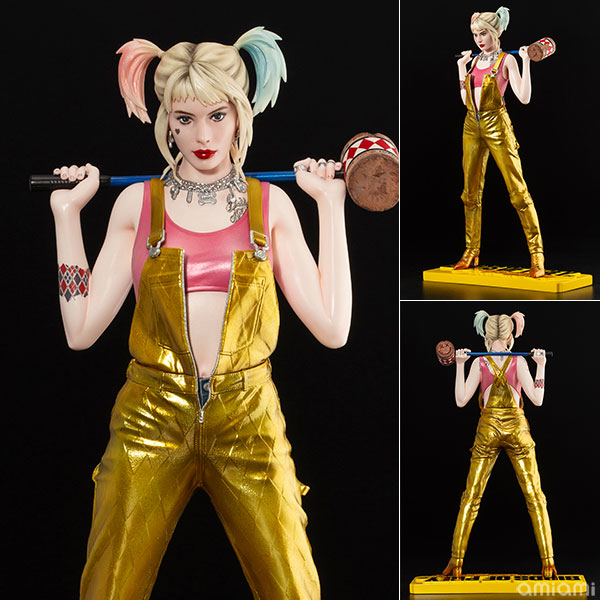 ARTFX DC UNIVERSE Harley Quinn -Birds of Prey [and the Fantabulous Emancipation of One Harley Quinn]