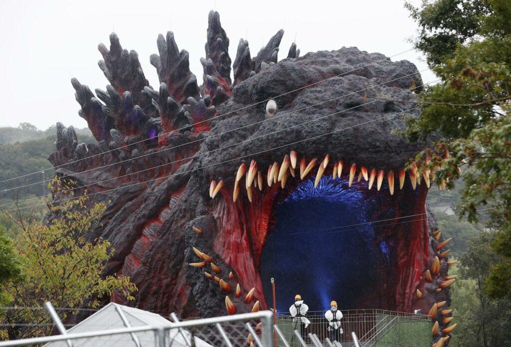 1:1 Godzilla afsløret i japansk forlystelsespark
