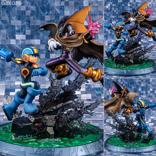 Game Characters Collection DX Mega Man - XZ Mega Man vs Bass