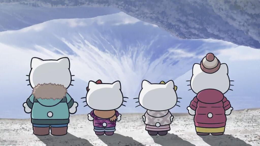 Hello Kitty udforsker Yamanashi i afslappegt Laid-Back Camp sæson 2 TV anime samarbejde