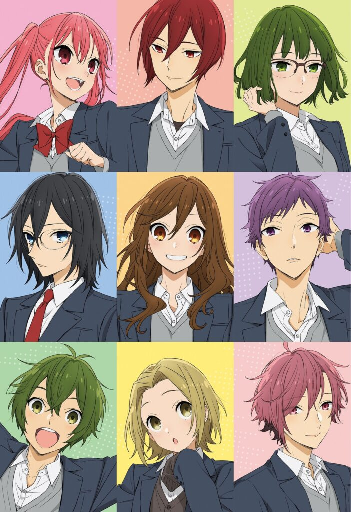 Horimiya TV anime info