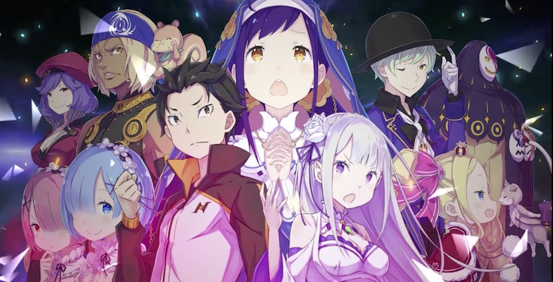 Re:ZERO: The Prophecy of the Throne spil trailer