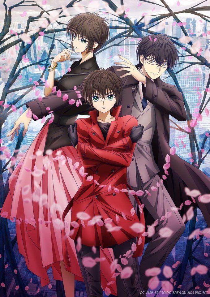 CLAMPs Tokyo Babylon 2021 TV anime info