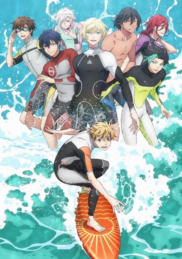 WAVE!! surfing anime film trilogi får TV serie udgave fra den 11 januar '21