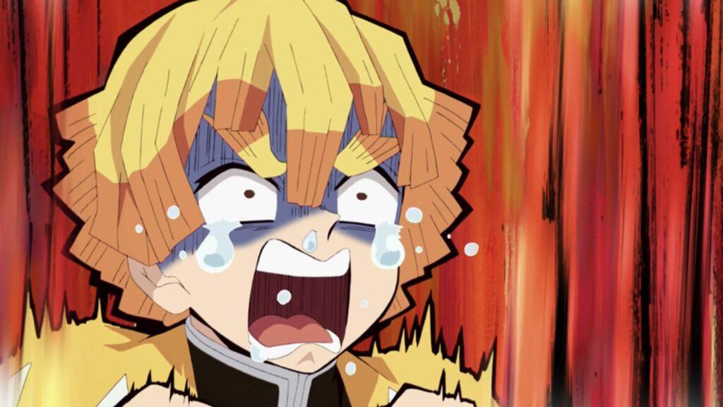 4: Zenitsu Agatsuma (Demon Slayer)