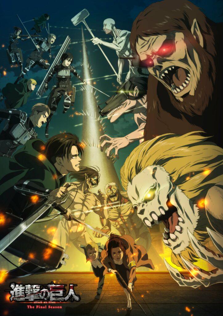 Attack on Titan Final Season TV anime billede