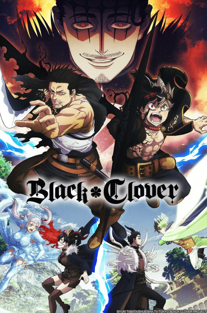 Black Clover anime Clover Kingdom vs. Spade Kingdom Arc info