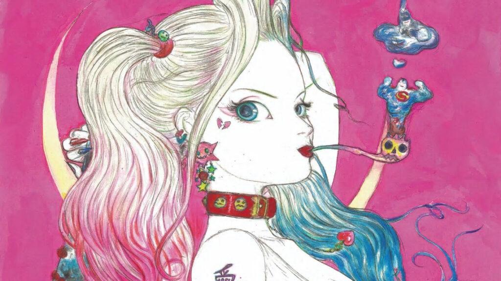 Yoshitaka Amano tegner forside til Harley Quinn