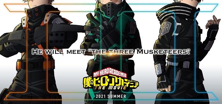 My Hero Academia får 3. anime film til sommer 2021