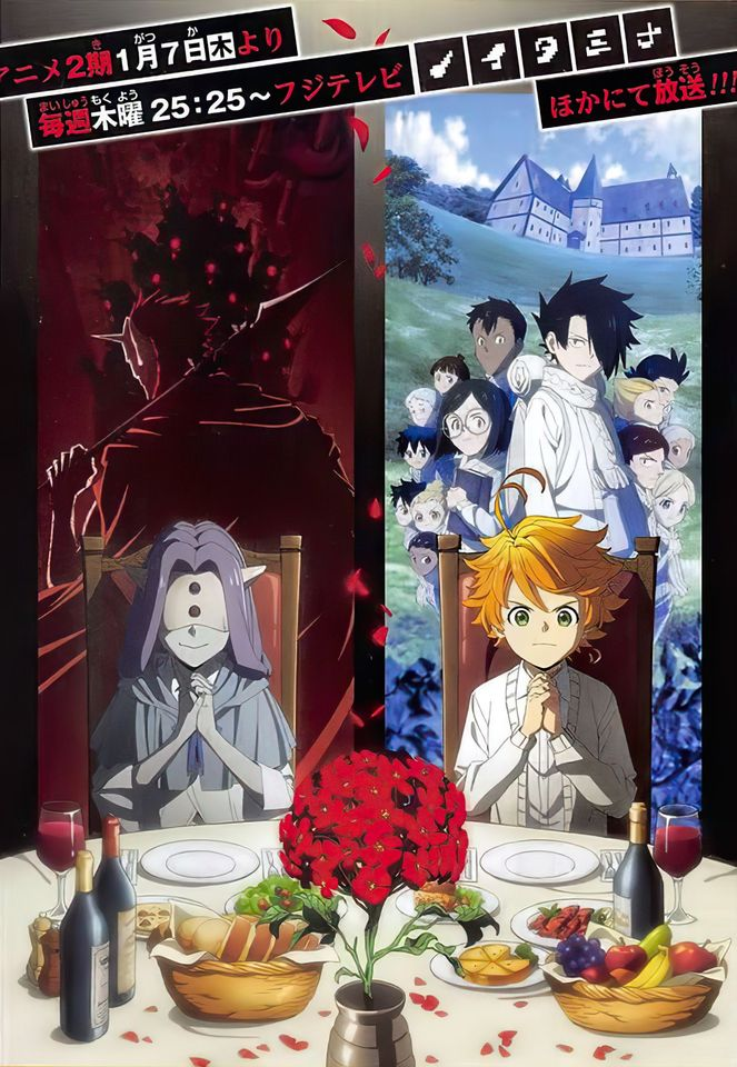 The Promised Neverland billede og info