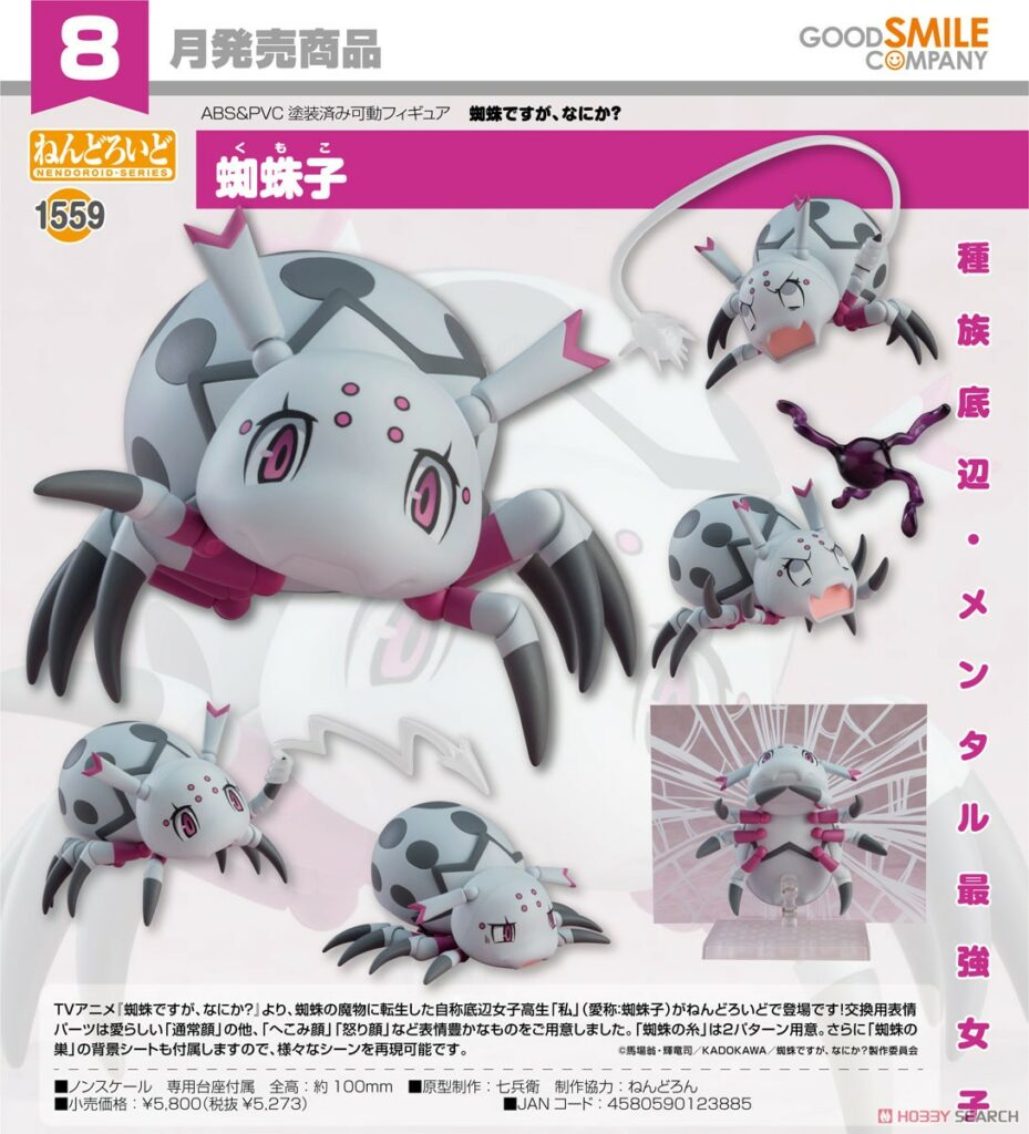 Nendoroid So I'm a Spider, So What? Kumoko