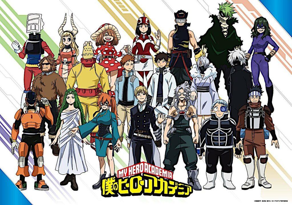 My Hero Academia1-B klassens dragter afsløret