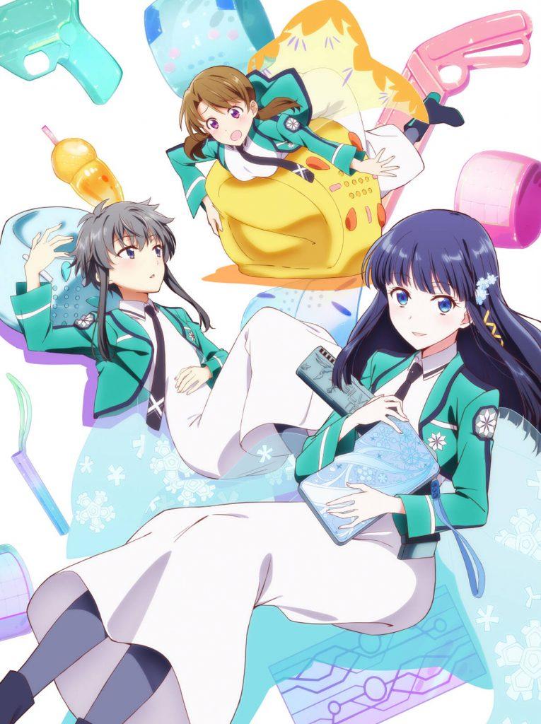 The Honor Student at Magic High School TV anime trailer og info