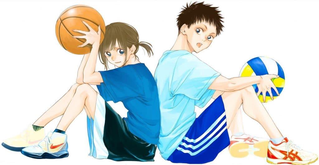 Ao no Hako er en ny romance sports manga i Weekly Shonen JUMP