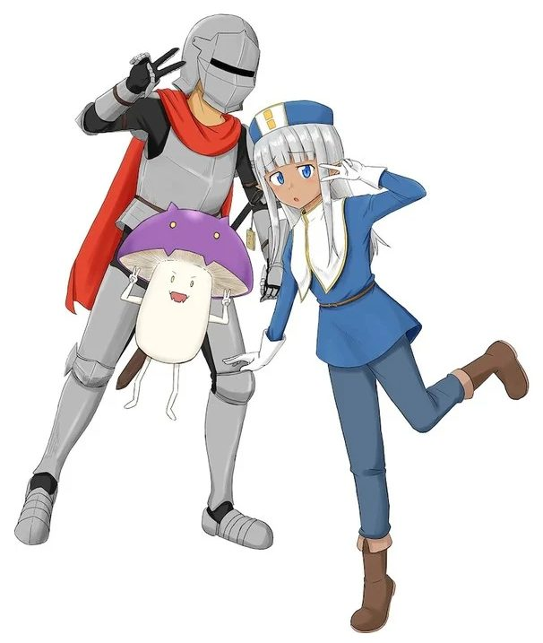 Kono Healer, Mendokusai fantasy komedie manga laves til TV anime