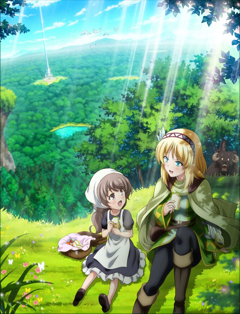 In the Land of Leadale TV anime illustration