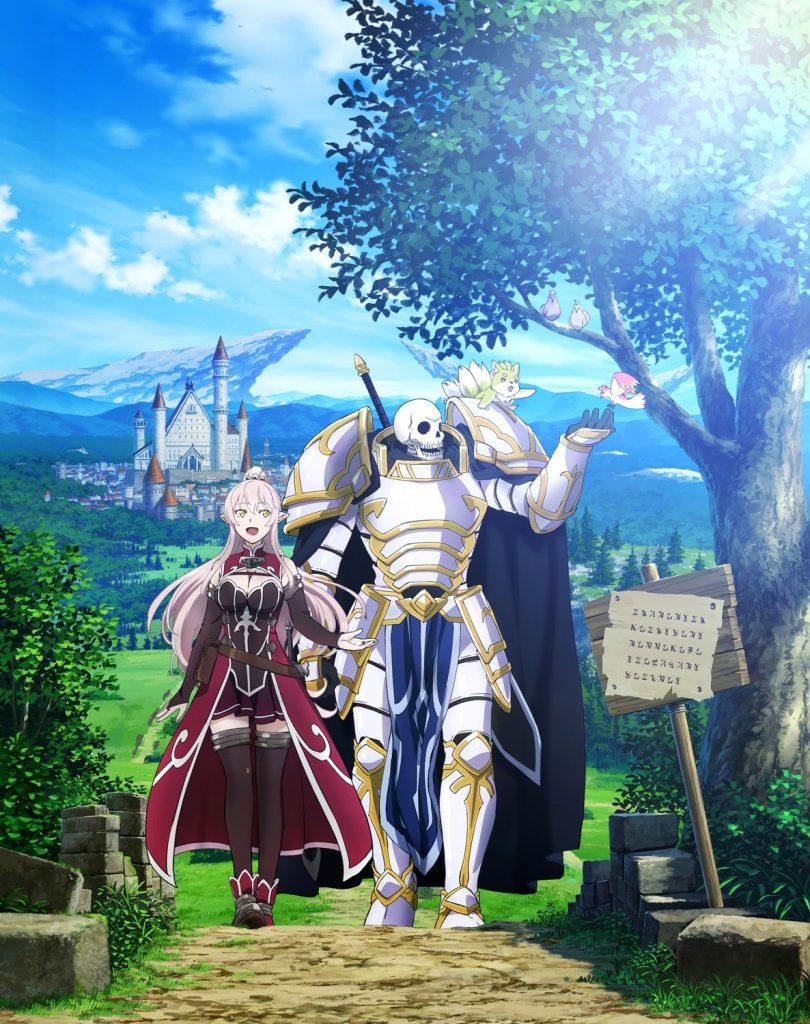 Skeleton Knight in Another World light novels laves til TV anime