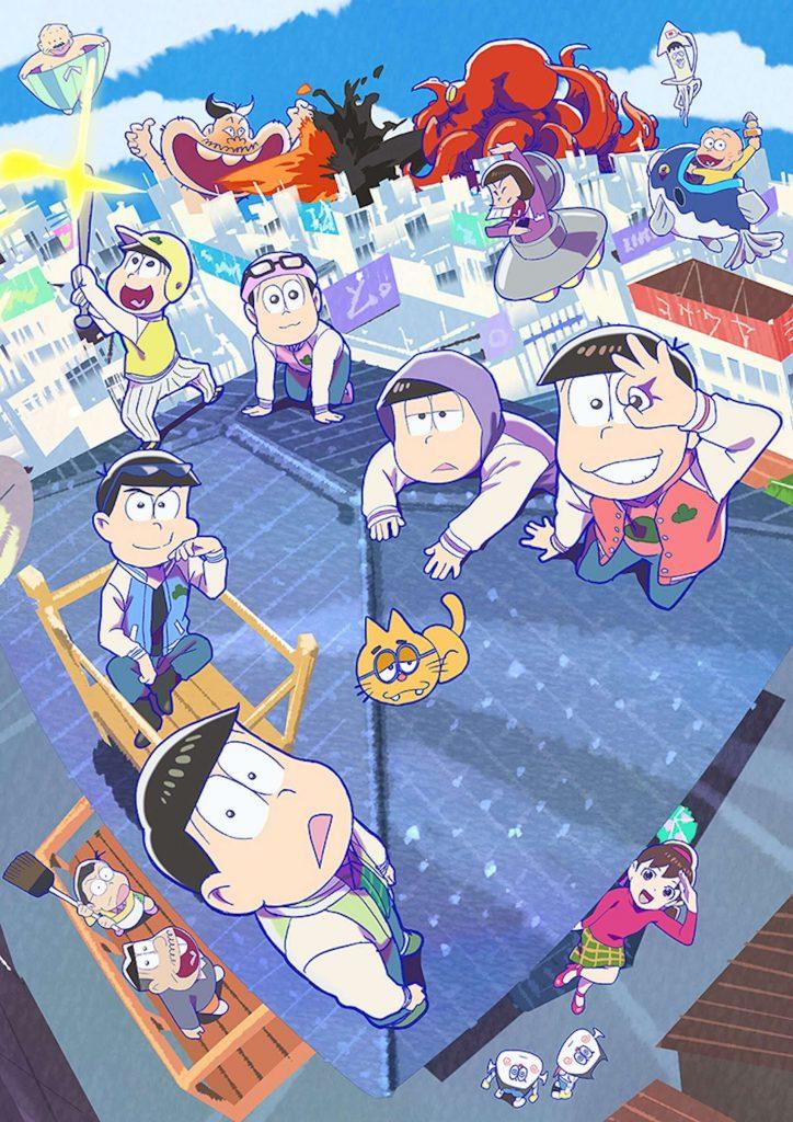 Mr. Osomatsu anime filmen får 2 nye biograf film i 2022 og 2023