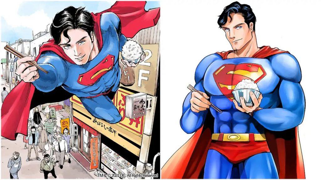 Superman får gourmet manga